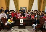 Uşakizade Köşkü'nün 25 Bininci Ziyaretçisi Konaklı Öğrenciler Oldu