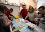 (26.01.2017) Otizmli Çocukların Mozaik Çalışması