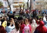 Yenilenen Parklarda Çocuk Şenliği