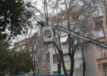 Çahabey Mahallesi Şehit. Ast. Çvş. Ömür CEBECİ Parkı Arızalı Armatürleri Yenileme Çalışması