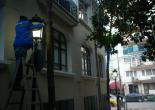 Turgut Reis Mahallesi Dario Moreno Sokak Aydınlatma Direkleri Yenileme Çalışması